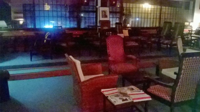 L'étage supérieure du Havana Room