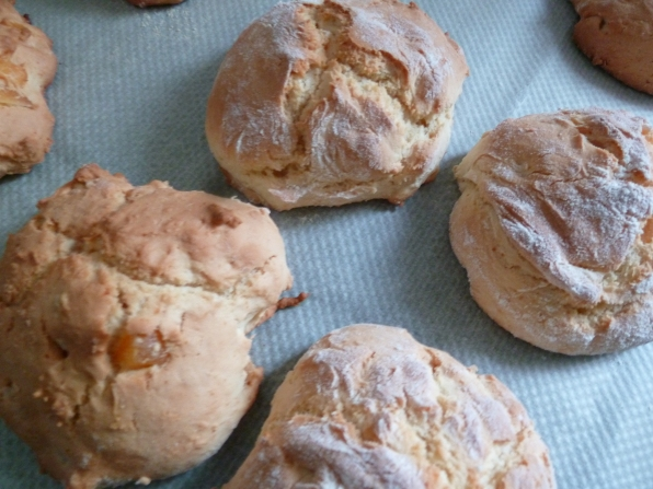 Scone mangue-melon